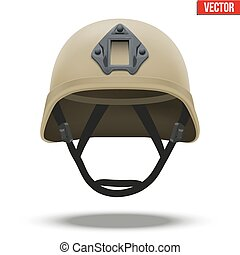 Military tactical helmet desert color - Military tactical...