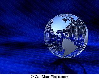 Metallic Globe