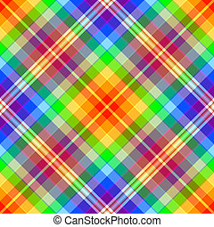 Abstract rainbow diagonal seamless pattern - Abstract...