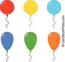 Icon Set Balloons