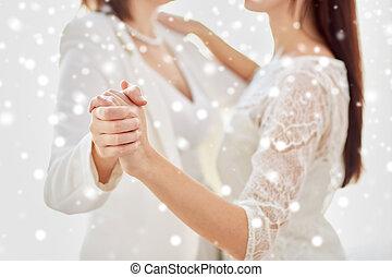 Lesbierin verheiratet