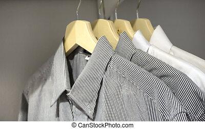 Men Shirts On Hanger - Luxury Men Shirts On Hanger