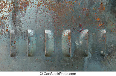 Texture background of old metal corrosion undergone