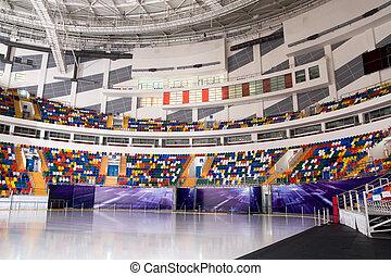 Ice stadium - Ice palace of sports on Hodynskoe Pole....