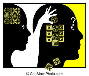 How Women change Men - Humorous concept sign of woman...