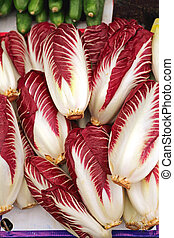 Radicchio - Italian Radicchio Leaf Chicory Vegetables at...