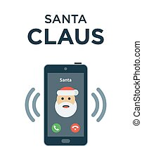 Marry Christmas phone call from Santa Claus - Christmas...