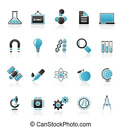 Research and Education Icons