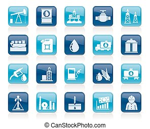 transportation and storage icons