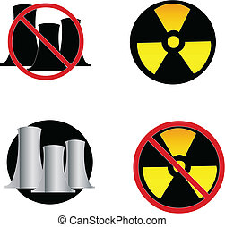 Nuclear Power signs