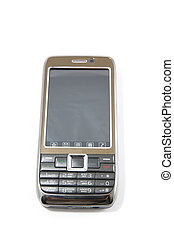 mobile device - modern mobile device on a white background