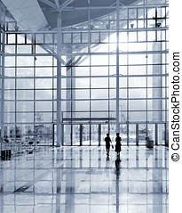 Modern Corporate Environment - A modern corporate building...