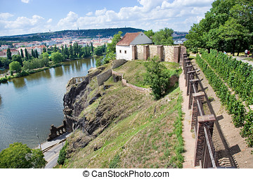 PRAGUE, CZECH REPUBLIC - JUNE 29, 2015: St Peter and St Paul...