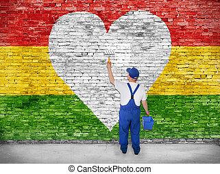 reggae, amante,