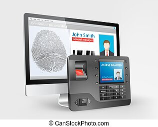 Access - Biometric fingerprint
