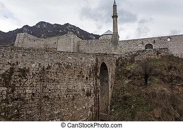 Medieval fortified building in Travnik 01 - Medieval...