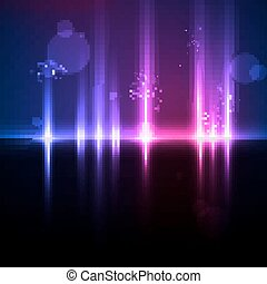 Abstract light background, futuristic illustration