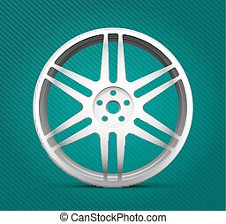 Car parts - alloy wheels