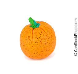 Plasticine, naranja