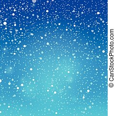 Abstract snow theme background 4 - eps10 vector...