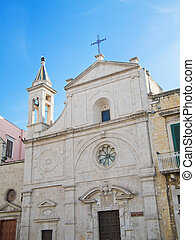St. Stefano Church of Molfetta. Apulia.