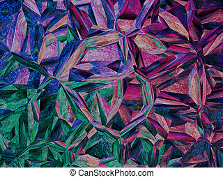 Purple jigsaw puzzle abstract background.