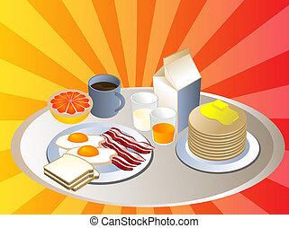 zupełny, Śniadanie