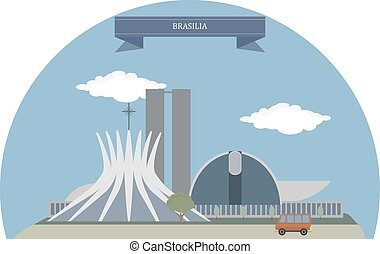 Brasilia, Brazil  - Brasília, federal capital of Brazil