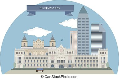 Guatemala City, capital and largest city of the Republic of...