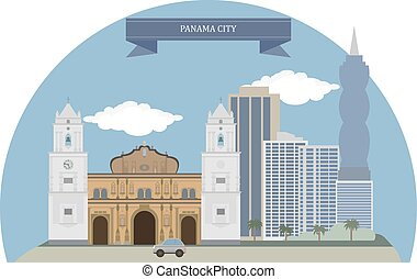 Panama City, capital and largest city of the Republic of...