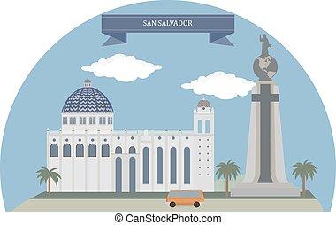 San Salvador, capital city of El Salvador