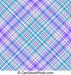 Seamless gentle lilas-blue diagonal pattern