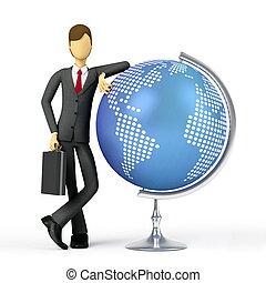 World-class Business - Businessman is a global world-class...