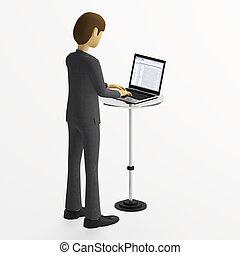 Accesing Laptop