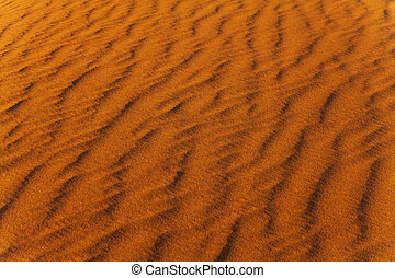 Sand wind wave pattern in the desert - Sands wind wave...