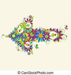 箭, 也, 看見, 箭, 植物, 我, 畫廊, 設計