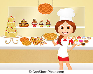 Pastry Shop Clipart