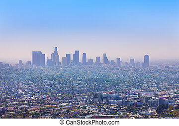 Nice city view of LA from Griffith Observatory - Beautiful...