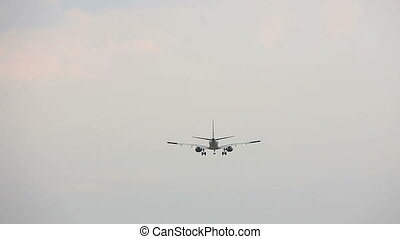 Airplane is Landing at the Airport HD