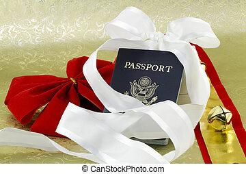 Holiday travel passport