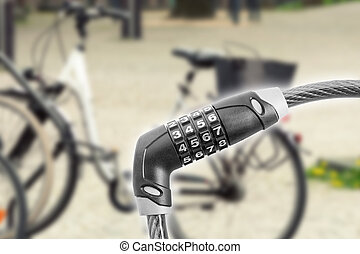 Lock for bycicle