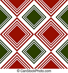 Repeating tartan pattern