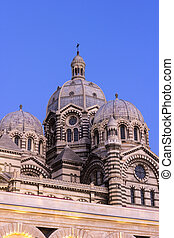 Marseilles Cathedral in France
