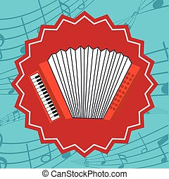 Music icon design - Music concept with icons design, vector...