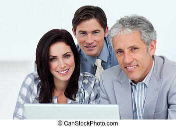 Charismatic, empresa / negocio, gente, trabajando,...