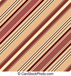 Seamless pastel brown diagonal striped pattern