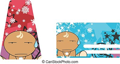 xmas gingerbread kid cartoon6 - xmas gingerbread kid cartoon...