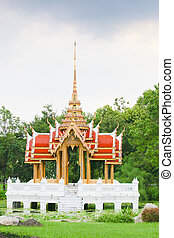 thai pattern Capitol Water in park - The worship pattern...