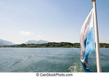 boat trip on the Chiemsee