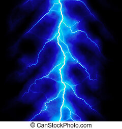 Electric lighting, abstract background